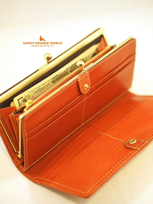 0500Dakotaのオレンジ財布5.jpg