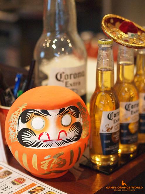 0501エル・カミーノのオレンジだるま.jpg