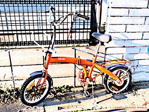 オレンジの自転車アート2-2.jpg