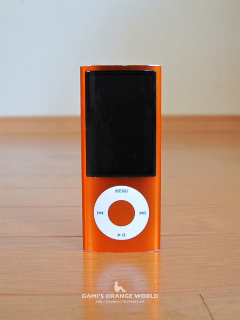 オレンジのiPod.jpg