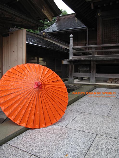 オレンジの和傘.jpg