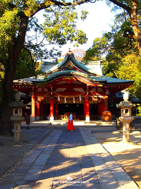 久伊豆神社の巫女さん.jpg